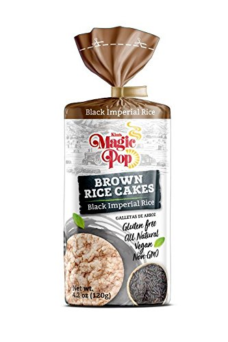 Brown Rice Cakes - Black Imperial Rice (12 packs)