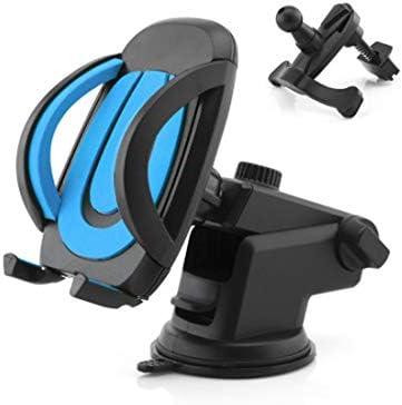 YIKETING カー用品ブラックシンプルな形状の吸盤マウント携帯電話ブラケット電話マウント (色 : 黒)