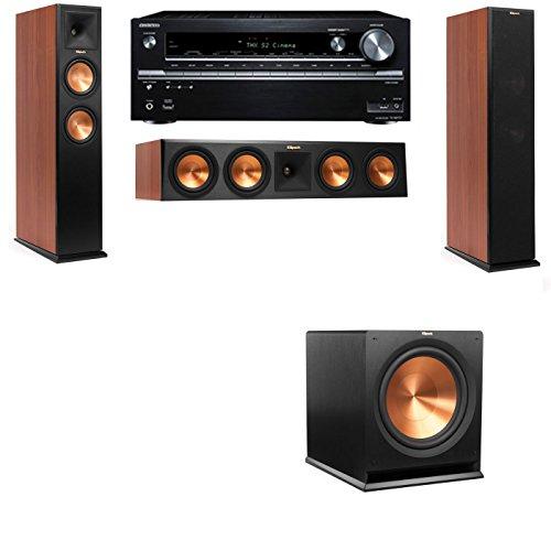 Klipsch RP-250F Tower Speakers CH-3.1-Onkyo TX-NR838
