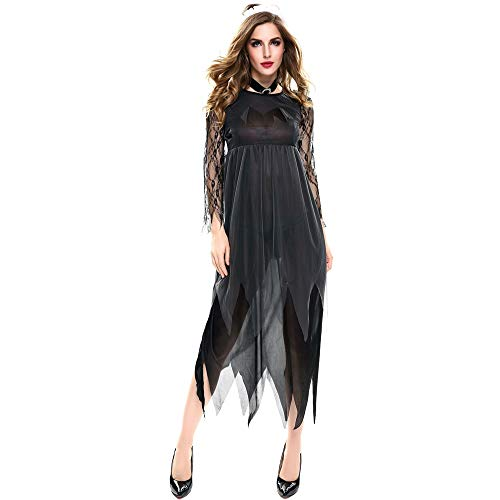 YUYX Halloween Costumes for Women Vampire Bride Cosplay Costume Performance Clothing ()