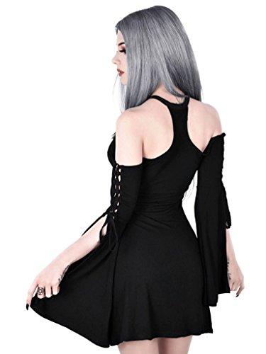 Aura Maiden Killstar Dress Kleid Schwarz Rqwv8fZx