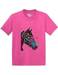 Neon Multicolor Horse Toddler/Infant T-shirt