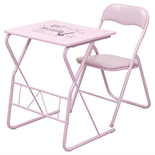 Kids Folding Table Chair Set Study Writing Desk Student Children Home School - Mall Boulevard The