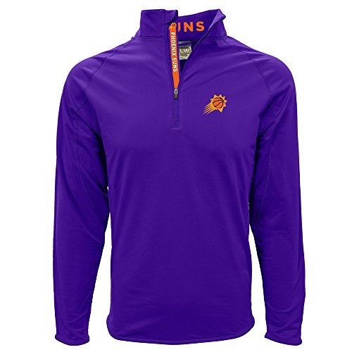 Levelwear NBA Phoenix Suns Adult Men Metro Bold Mid-Layer,X-Large,Purple