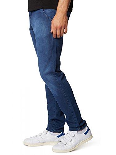 Insignia Dexter Hombre Pantalón WOTEGA Slim 4028 Blue de Vaqueros fit Azul Deporte dIzndwqp
