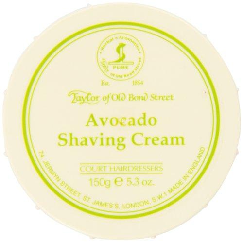 Taylor of Old Bond Street Avocado Shaving Cream In A Bowl, 5