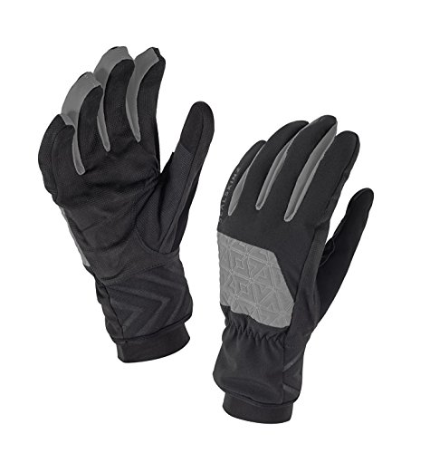 proof Men's Glove - Windproof & Breathable - suede palm, suitable for walking, hiking, camping in Cold Weather conditions ()