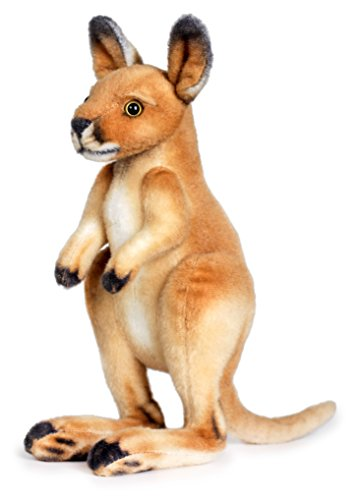 Kangaroo Plush Toy (Joey the Baby Kangaroo | 13 Inch Baby Kangaroo Stuffed Animal Plush | By Tiger Tale Toys)
