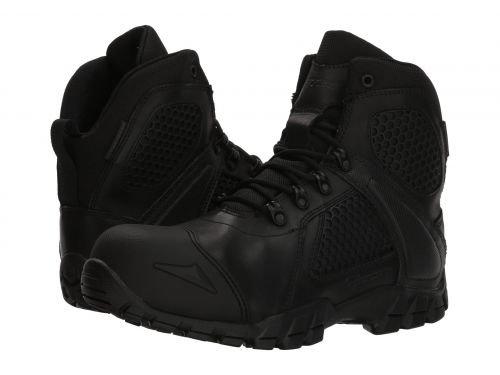 Bates Footwear(ベイツ) メンズ 男性用 シューズ 靴 ブーツ 安全靴 ワーカーブーツ Shock FX Comp Toe Black [並行輸入品] B07DNPVB8F 9 EE Wide