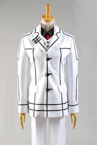 Kaname Vampire Knight Costume (Vampire Knight Kuran Kaname Night Class Uniform Cosplay Costume)