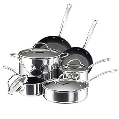 Farberware Millennium Colors Nonstick Aluminum Cookware Set