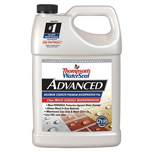 Thompsons Water - Thompsons Water Seal A11701 1-Gallon Advanced Maximum Strength One-Coat Waterproofed