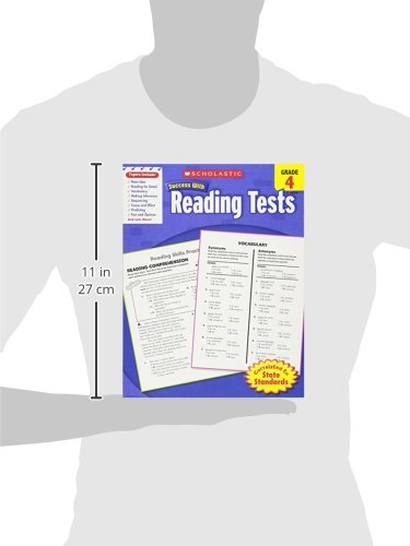 Amazon scholastic success with reading tests grade 4 amazon scholastic success with reading tests grade 4 scholastic success with workbooks tests reading 9780545201100 scholastic books fandeluxe Image collections