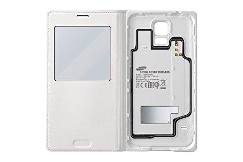 17 opinioni per Samsung S-View Custodia Wireless per Galaxy S5, Bianco