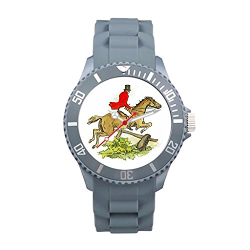 hunt-plastic-antique-wrist-watches-colorful-plastic-cuff-watch-band-gray