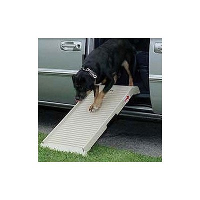 "Petstep 39"" L X17"" W Weather Resistant Light Weight Portable Bed Sofa Car Mini Van Half Step Dog Safety Ramp"