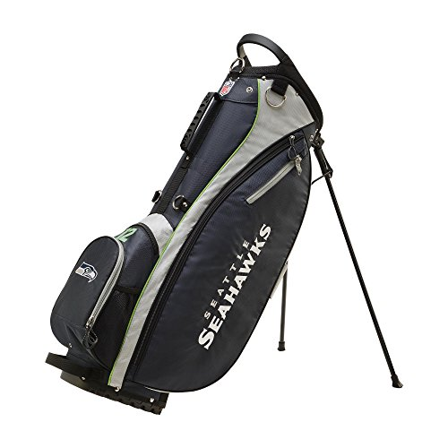 - Wilson 2018 NFL Carry Golf Bag, Seattle Seahawks