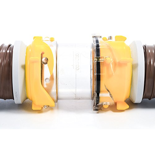 Camco Clear Sewer Hose Adapter