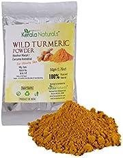 Kerala Naturals Wild Turmeric - Kasthuri Manjal: For Glowing Skin - 100 gm