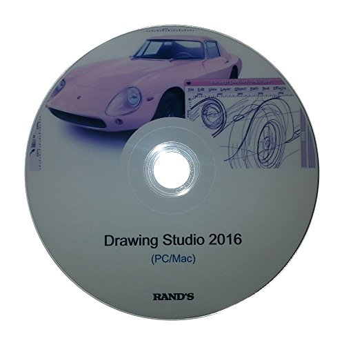 Drawing Studio 2016 (Illustration and 2D Cartoon Drawing Animation Software + 40 Drawing eBooks) for PC/Mac by RAND'S