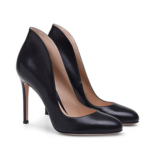 Fall Spring Shoes Black Dress Evening amp; Color Party Heel Shoes Burgundy Leatherette 2018 Walking 38 A Wedding Women's Size Heels Stiletto dBtIwIq