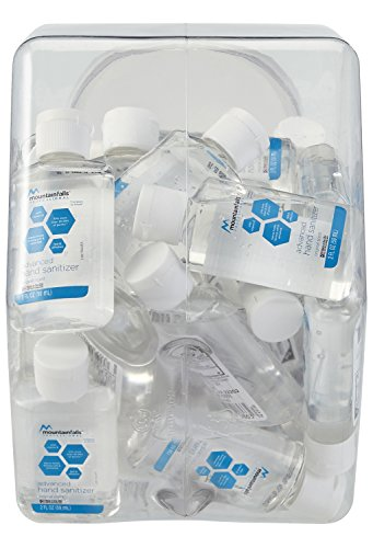 Mountain Falls Professional Advanced Original Hand Sanitizer Fishbowl with 36, 2 Fluid Ounce Bottles by Mountain Falls (Image #4)
