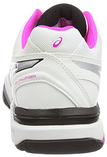 10 Challenger 0135 Women's Shoes White Glow Tennis Gel Pink Asics Black White a1qPBEx