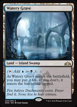 Magic: the Gathering - Watery Graves (259/259) - Guilds of Ravnica from Magic: the Gathering