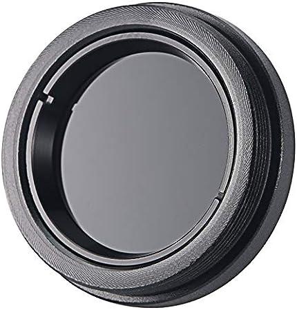 Astronomical Telescope Accessories 0.965//1.25 Black Sun Filters Full-aluminum Standard Thread for Astro Optics Eyepiece Black