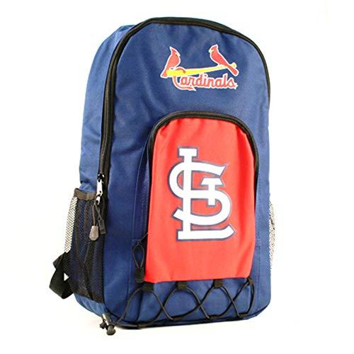 St Louis Cardinals Premium Backpack Heavy Duty Echo Bungee Design Baseball