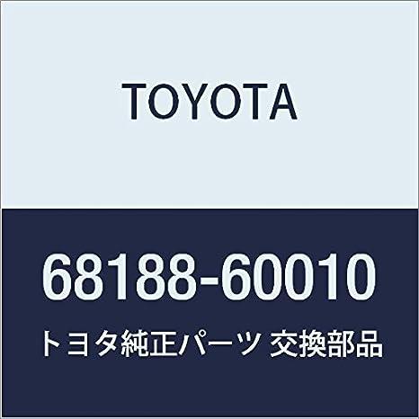 TOYOTA Genuine 68188-0R010 Window Weatherstrip