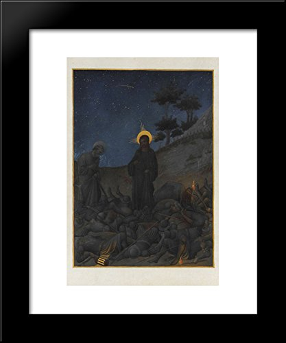 - Christ in Gethsemane 20x24 Framed Art Print by Limbourg brothers