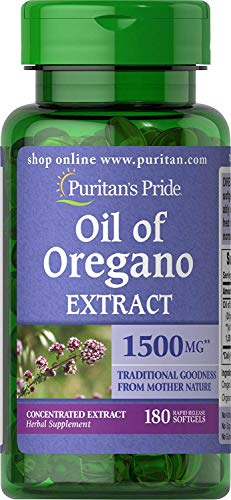 Cheap Puritan's Pride Oil of Oregano Extract 1500 mg Rapid Release Softgels 180 Count (2 Pack) (2) puritan's pride oil of oregano