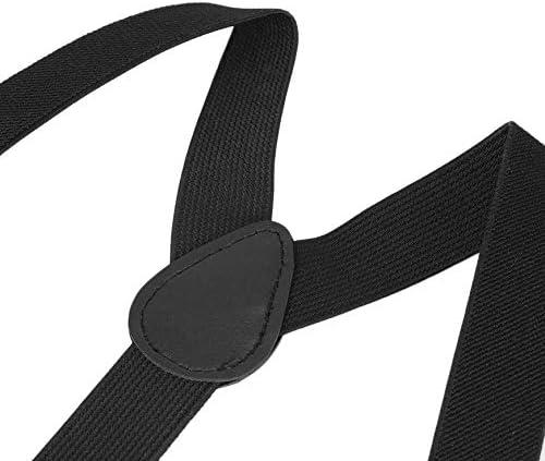 NSH Verstellbare Klammer Clip-on Verstellbare Unisex-Hosen Hosentr/äger Gurte Vollelastischer Y-R/ücken-Strapsg/ürtel f/ür Kinder