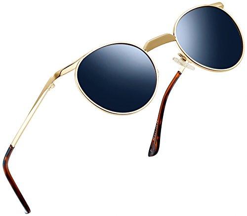 f7374d3378 Joopin-Men Retro Brand Polarized Sunglasses Women Vintage Round Sunglasses  - Buy Online in Oman.