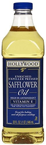 Hollywood Enriched Safflower Oil 32 oz - Pack of 6