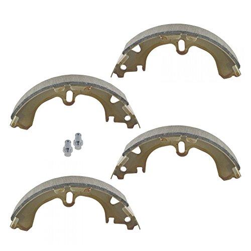 Geo Prizm Rear Brake - Rear Brake Shoe Set Pair Kit for Toyota Chevy Geo Corolla Prizm