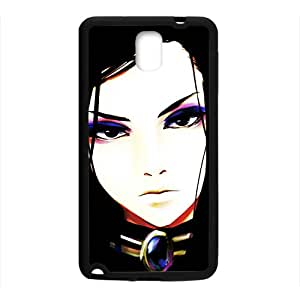 Cartoon Anime Cool Black Phone Case for Samsung Galaxy Note3