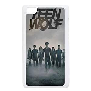 wugdiy Personalized Durable Case Cover for iPod Touch 4 with Brand New Design Teen Wolf