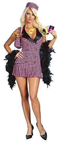 Clueless Costume Party (Shop-a-Holic Cher Hilton Clueless Sexy Adult Costume Medium 8-10)