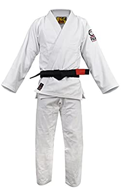 FREE Fuji Sports Sekai BJJ Gi Black Jiu Jitsu Gi Kimono Uniform #8803