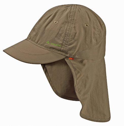 VAUDE Kinder Mütze Sahara Cap III, Wood, M, 03136
