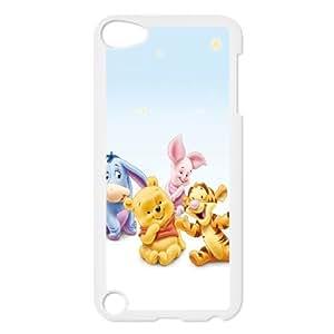 iPod Touch 5 Case White Winnie The Pooh X3M6ML