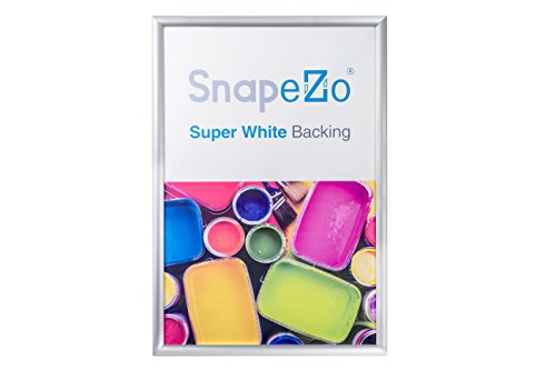 SnapeZo Poster Frame 14x20 Inches, Silver 1.2\