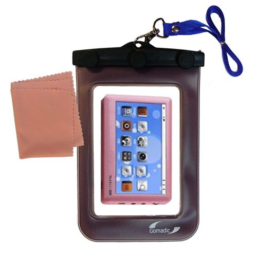 underwater case for the Pyrus Electronics Sigo - weather and waterproof case safely protects against the elements (Mp3 Sigo Player)