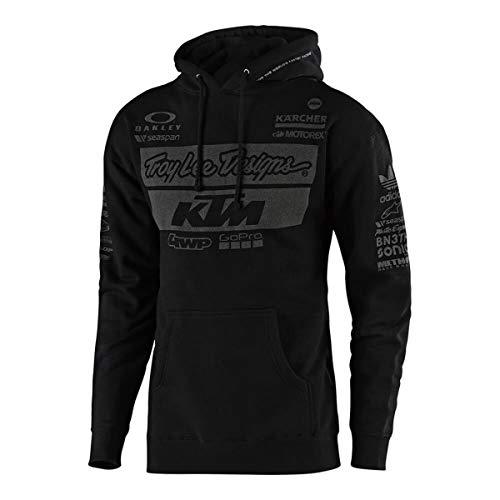 2019 Troy Lee Designs Men's KTM Team Pullover Hoody,Medium,Black from Troy Lee Designs