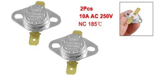 eDealMax 2 PC 185 centígrados normal cerrado del interruptor del termostato de cerámica - - Amazon.com