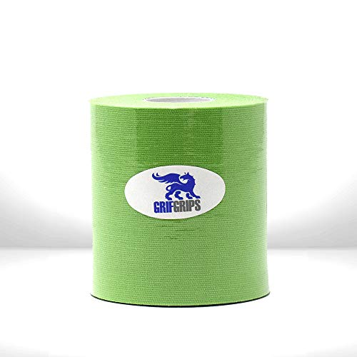 GrifGrips Sports Tape (Green, Single Roll Pack)