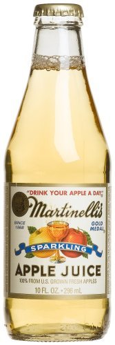 (Martinelli's Sparkling Apple Juice, 10 Ounce (Pack of)