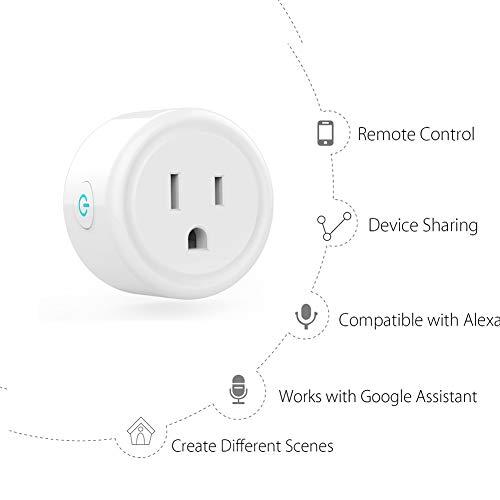 SHOPUS | Smart Plug Compatible with Alexa, Google Assistant
